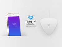 Homefy Logo and product design