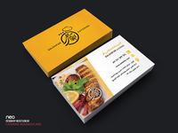 SalehiFar Catering businesscard