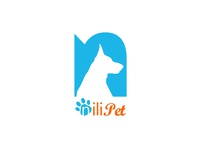 Nilipet Pet shop logo