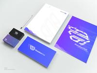 ShetabanHost brand stationery