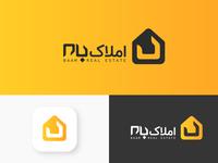 Baam real estate logo & logotype