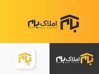 Baam logotype farsi