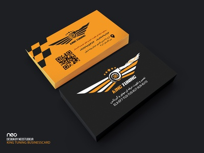 king tuning Logo & businesscard