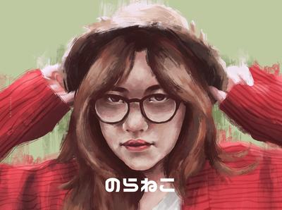 Girl Potrait Illustration