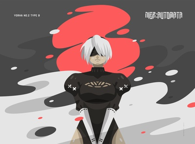 Nier:Automata Fan Art - Illustration
