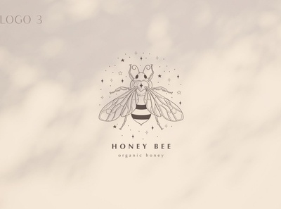 Pre-made Logo Templates + Packaging. etsy facebook cover luna spiritual geometric design yoga dots bug beetle insect mistic crescent bee premade logo tattoo stars graphics branding logo vector