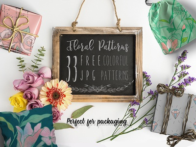 30+ FREE Floral Patterns