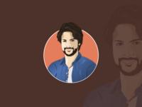 Realistic Profile Illustration