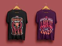 T shirt Art for single Moms