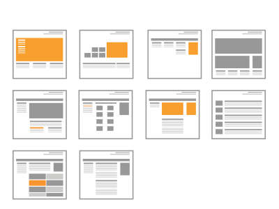 Thumbnail wireframe icons wireframe icon thumbnail mini ux user experience