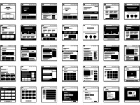"Icon Set - ""Website Wireframes"""