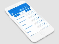 Meeting Calculator Mobile App Prototype Design