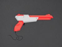 Nintendo Gun — Flat Design Illustration
