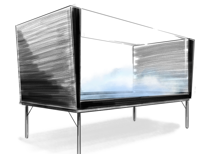 Coffee Table Concept iD drawing digital sketch sketch concept coffee table furniture id industrial design