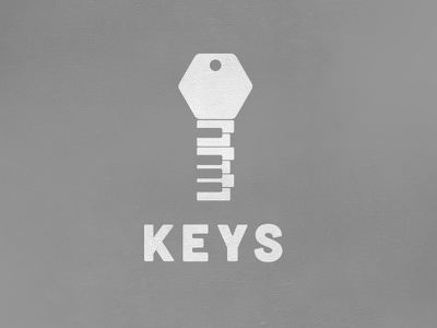 Keys Logo logo vector flat keys music key