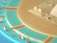Tiny Egypt WIP