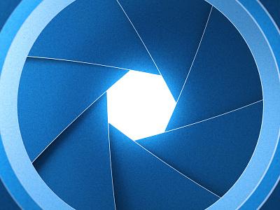 Paper Lens camera lens shapes cinema 4d toy design illustration 3d c4d