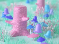 Stumps and Shrooms