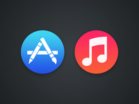 OS X Store Icons