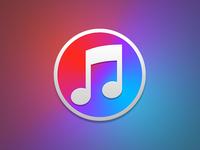iTunes Alt. desktop icon apple music mac itunes os x