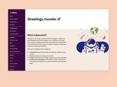 Spacesuit Web Design System engineering development design systems ui guidelines