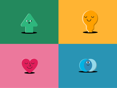 Slack Community website web animation illustration branding design