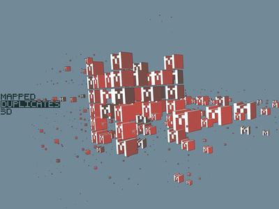 Mapped Duplicates 3D