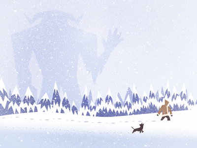 ARCTIC GIANT illustration beast giant