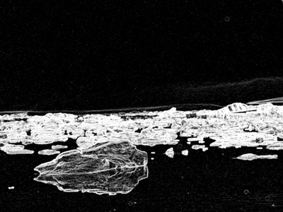 Glacial Edge Detection