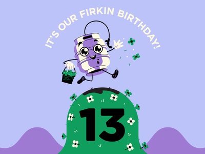 13th Firkin Birthday!