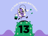 13th Firkin Birthday!