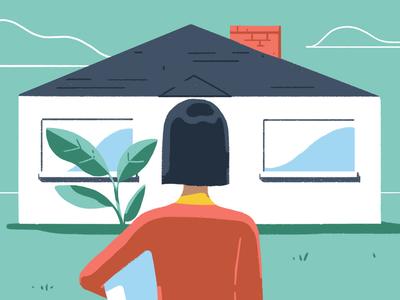Get You Home 2d storyboard style frame photoshop design adobe illustration