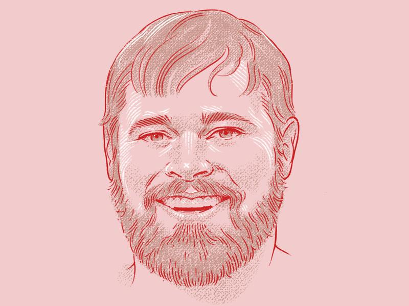 The Dorian cintiq adobe photoshop bust portrait illustration