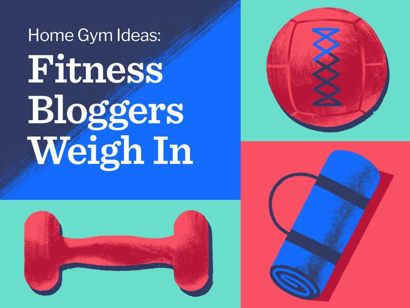 Home Gym Ideas graphic design blog weight workout fitness photoshop design adobe 2d illustration