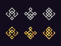 Geometric Logo Set 1