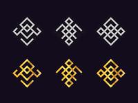 Geometric Logo Set 2