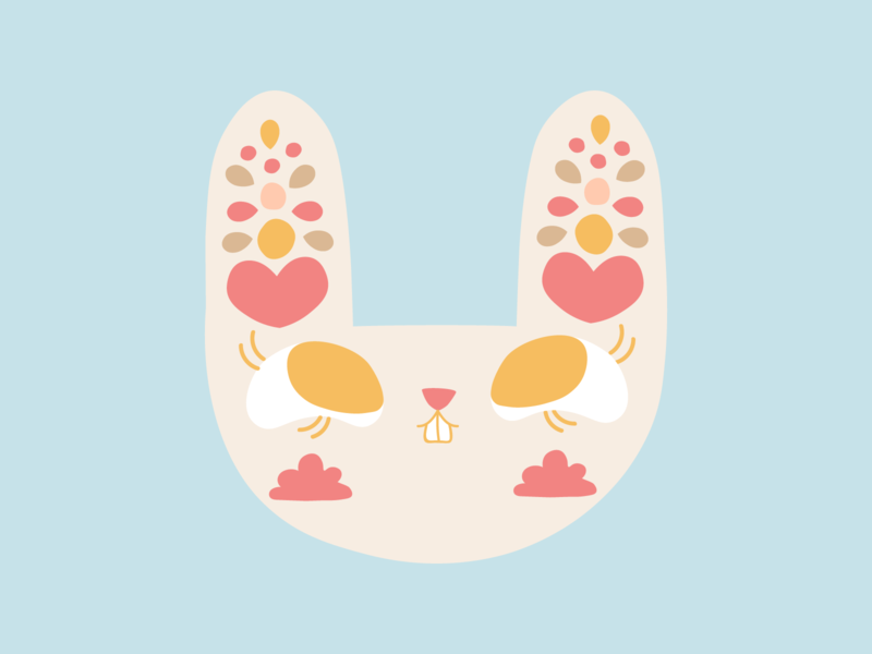 Bunny - Bunito 🐰 kawaii cute summer rabbit