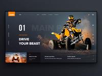 SQUADRO Website Concept