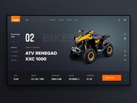 SQUADRO Website Concept 2 Screen