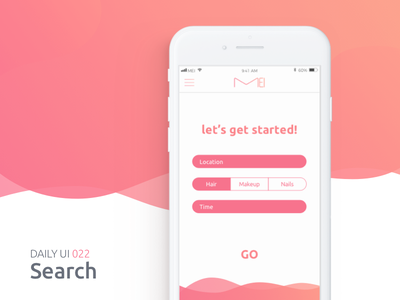 Search uiux interface up2code mei mobile search app refine dailyui