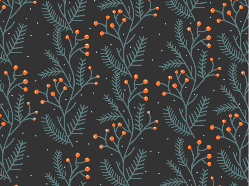 Holiday Gift Wrap 1/4 illustration surface design wallpaper patterns christmas
