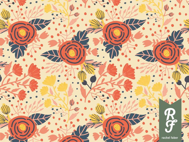 Spring Patterns nature design pattern illustration flower