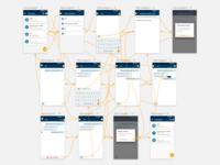 Estudo de navegação em aplicativo