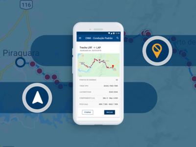 APP Condução (GPS para maquinista)