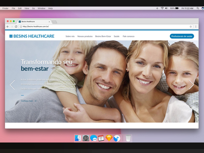 Interface para novo site design interface ui
