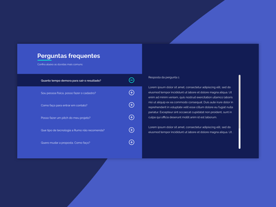 FAQ - interações do usuário interaction-design ux