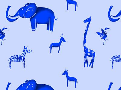 Savannah Pattern design illustration