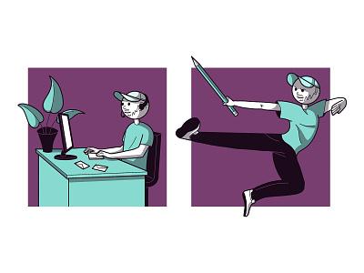 New illustrations design illustration