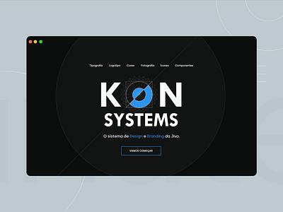 Design systems website design black dark version typoography logo uikit design principles components ui design systems