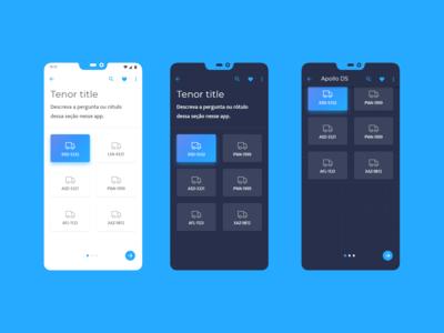 Light and Dark Version mobile App